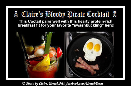 This Cocktail pairs well with