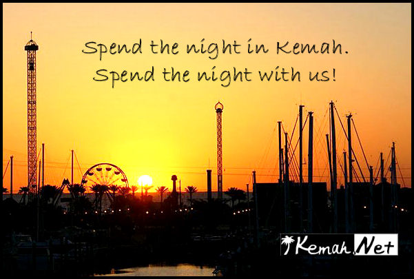Spend the night in