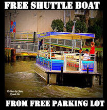 FREE PARKING & BOAT RIDE IN KEMAH, TX 77565
